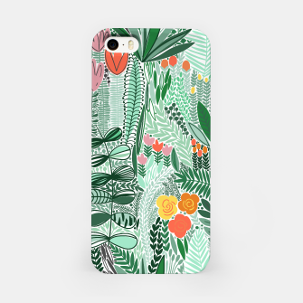 Thumbnail image of iPhone case Green flowers, Live Heroes