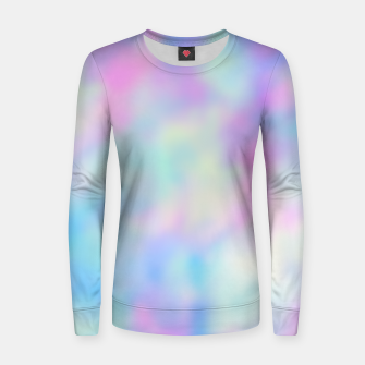 Thumbnail image of Pastel Palette Woman cotton sweater, Live Heroes