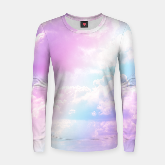 Miniatur Pastel Rainbow Aesthetic Woman cotton sweater, Live Heroes