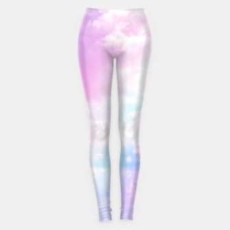 Thumbnail image of Pastel Rainbow Aesthetic Leggings, Live Heroes