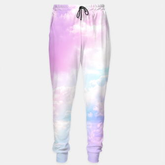 Thumbnail image of Pastel Rainbow Aesthetic Cotton sweatpants, Live Heroes
