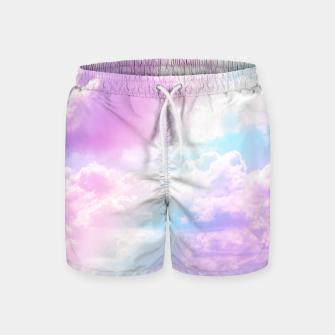 Thumbnail image of Pastel Rainbow Aesthetic Swim Shorts, Live Heroes