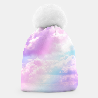 Thumbnail image of Pastel Rainbow Aesthetic Beanie, Live Heroes
