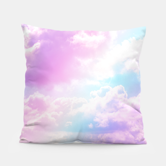 Thumbnail image of Pastel Rainbow Aesthetic Pillow, Live Heroes