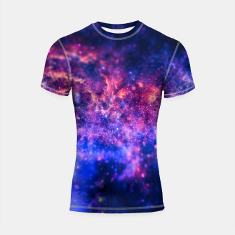 Thumbnail image of The center of the Universe (The Galactic Center Region ) Shortsleeve rashguard, Live Heroes