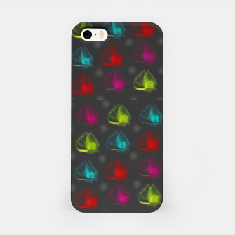Miniatur roses raining for love  in pop art iPhone Case, Live Heroes