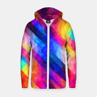 Art1st1k Cotton zip up hoodie thumbnail image
