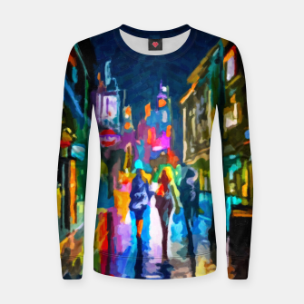 Thumbnail image of Art1st1k II Woman cotton sweater, Live Heroes