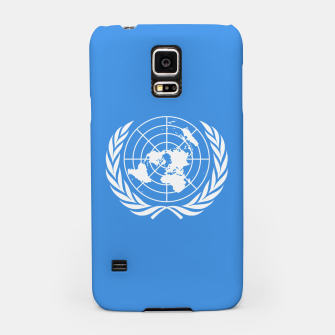 Miniaturka United Nations White on Blue Samsung Case, Live Heroes
