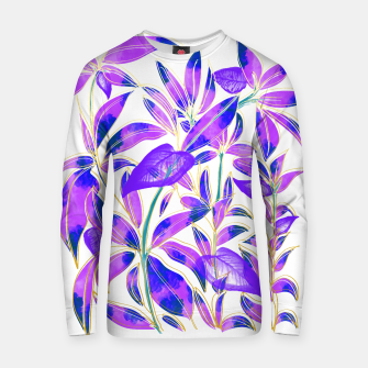 Thumbnail image of Ultraviolet Nature Cotton sweater, Live Heroes