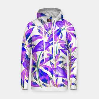 Thumbnail image of Ultraviolet Nature Cotton hoodie, Live Heroes