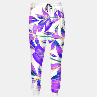 Thumbnail image of Ultraviolet Nature Cotton sweatpants, Live Heroes
