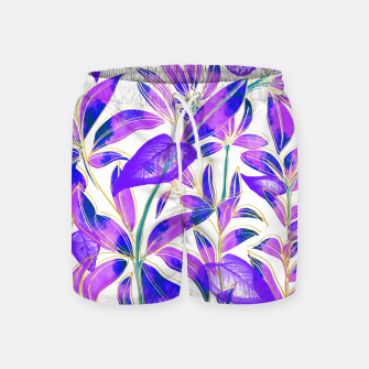 Miniatur Ultraviolet Nature Swim Shorts, Live Heroes