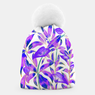 Thumbnail image of Ultraviolet Nature Beanie, Live Heroes