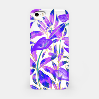 Miniatur Ultraviolet Nature iPhone Case, Live Heroes