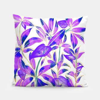 Miniatur Ultraviolet Nature Pillow, Live Heroes