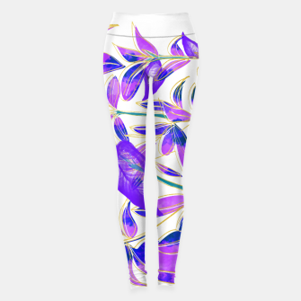 Miniatur Ultraviolet Nature Leggings, Live Heroes