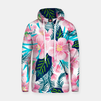 Thumbnail image of Floral Gift Cotton hoodie, Live Heroes