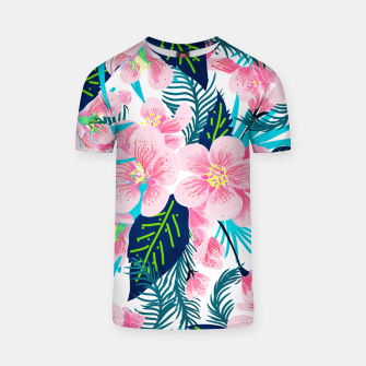 Thumbnail image of Floral Gift T-shirt, Live Heroes