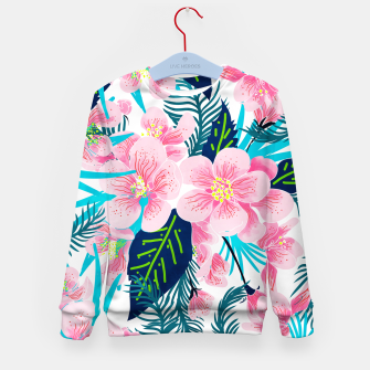 Thumbnail image of Floral Gift Kid's sweater, Live Heroes