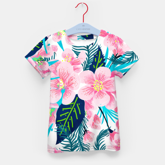 Thumbnail image of Floral Gift Kid's t-shirt, Live Heroes