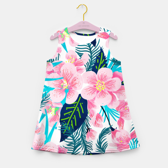 Thumbnail image of Floral Gift Girl's summer dress, Live Heroes