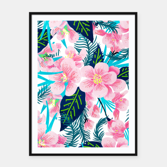 Thumbnail image of Floral Gift Framed poster, Live Heroes