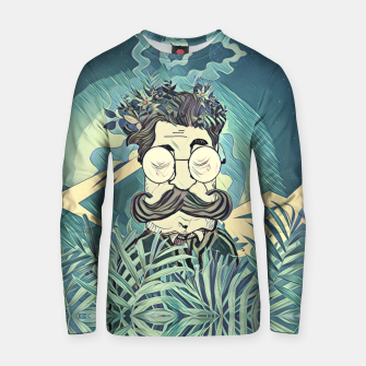 Thumbnail image of Moustache Cotton sweater, Live Heroes