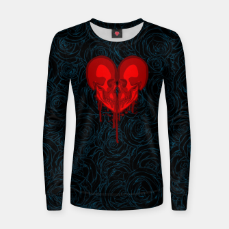 Thumbnail image of Eternal Valentine Woman cotton sweater, Live Heroes