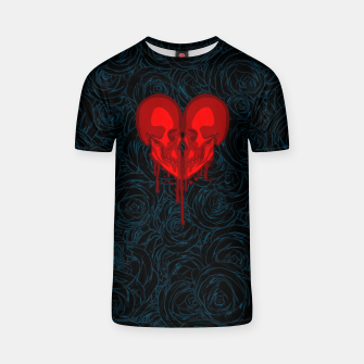Thumbnail image of Eternal Valentine T-shirt, Live Heroes