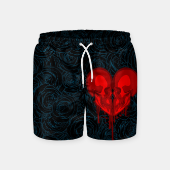 Thumbnail image of Eternal Valentine Swim Shorts, Live Heroes