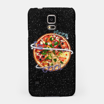 Miniaturka Pizza is cool Samsung Case, Live Heroes