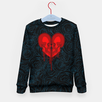 Thumbnail image of Eternal Valentine Kid's sweater, Live Heroes
