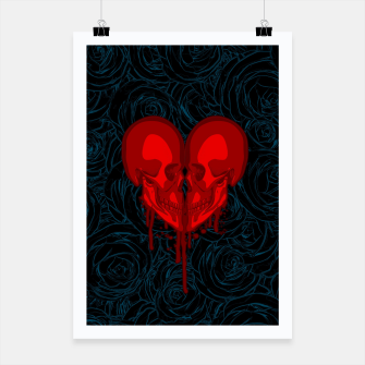Thumbnail image of Eternal Valentine Poster, Live Heroes