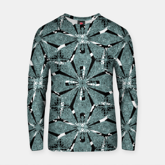 Thumbnail image of Modern Oriental Ornate Pattern Cotton sweater, Live Heroes