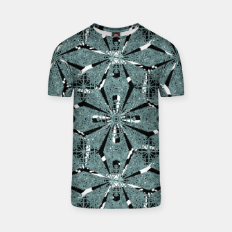 Thumbnail image of Modern Oriental Ornate Pattern T-shirt, Live Heroes