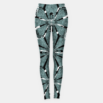 Thumbnail image of Modern Oriental Ornate Pattern Leggings, Live Heroes