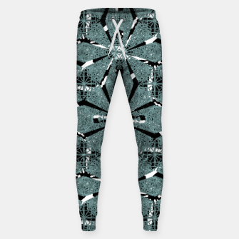 Thumbnail image of Modern Oriental Ornate Pattern Cotton sweatpants, Live Heroes