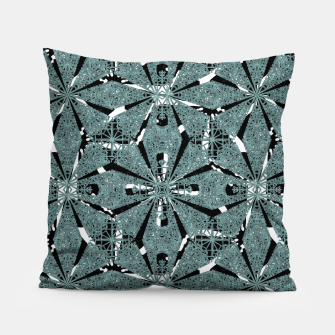 Thumbnail image of Modern Oriental Ornate Pattern Pillow, Live Heroes