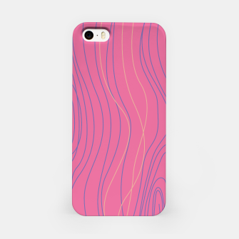 Thumbnail image of iPhone case pink Wood ethno, Live Heroes