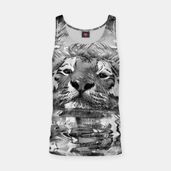 Thumbnail image of AnimalArtBW_Tiger_001_by_JAMFoto Tank Top, Live Heroes