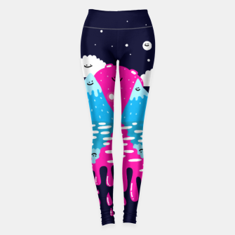 Miniaturka Moon, stars and balloons Leggings, Live Heroes