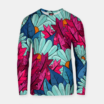 Miniatur The leaves and flowers  Cotton sweater, Live Heroes