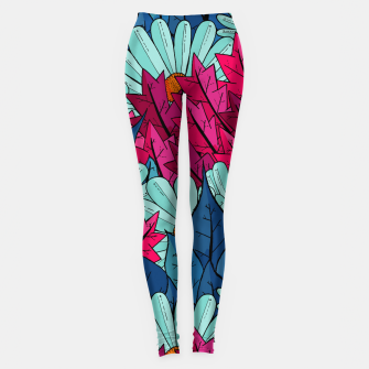 Miniatur The leaves and flowers  Leggings, Live Heroes