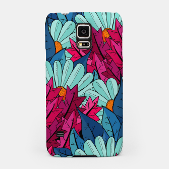 Miniatur The leaves and flowers  Samsung Case, Live Heroes