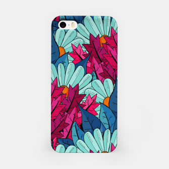 Miniatur The leaves and flowers  iPhone Case, Live Heroes