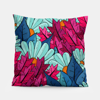 Miniatur The leaves and flowers  Pillow, Live Heroes