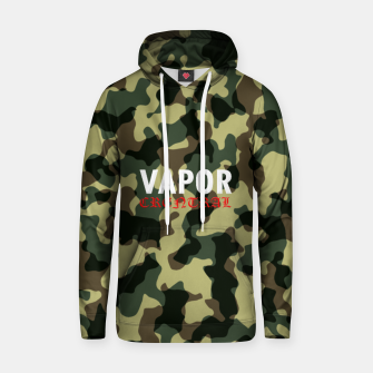 Thumbnail image of camo vamor Cotton hoodie, Live Heroes