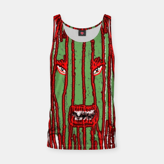 Thumbnail image of Long Hair Monster Portait Drawing Tank Top, Live Heroes