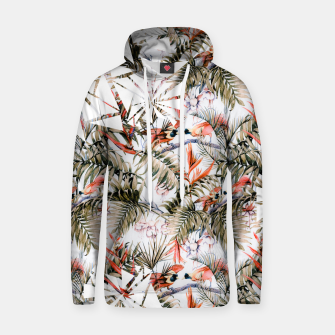 Thumbnail image of Exotic birds in the jungle paradise Sudadera con capucha de algodón, Live Heroes